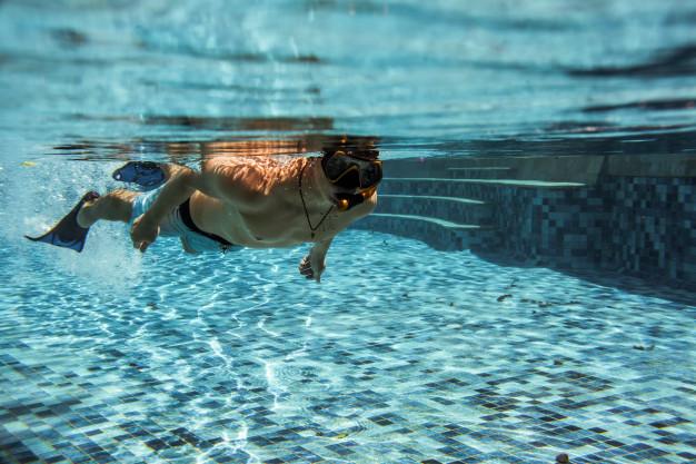 Training for swimming in UAE